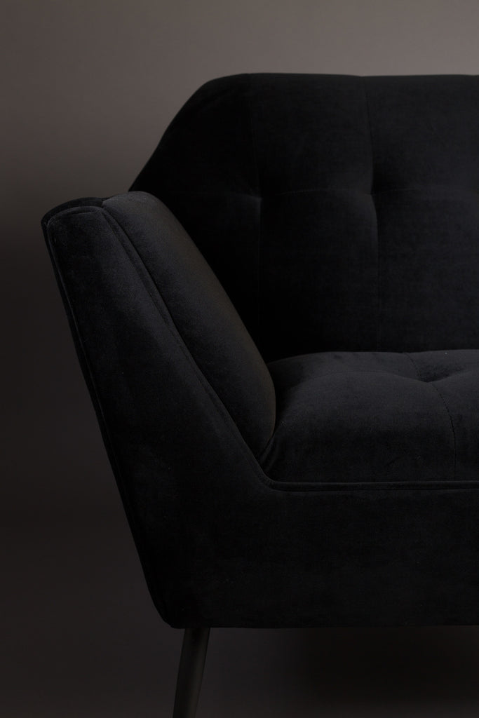 Kate Lounge Chair - Black