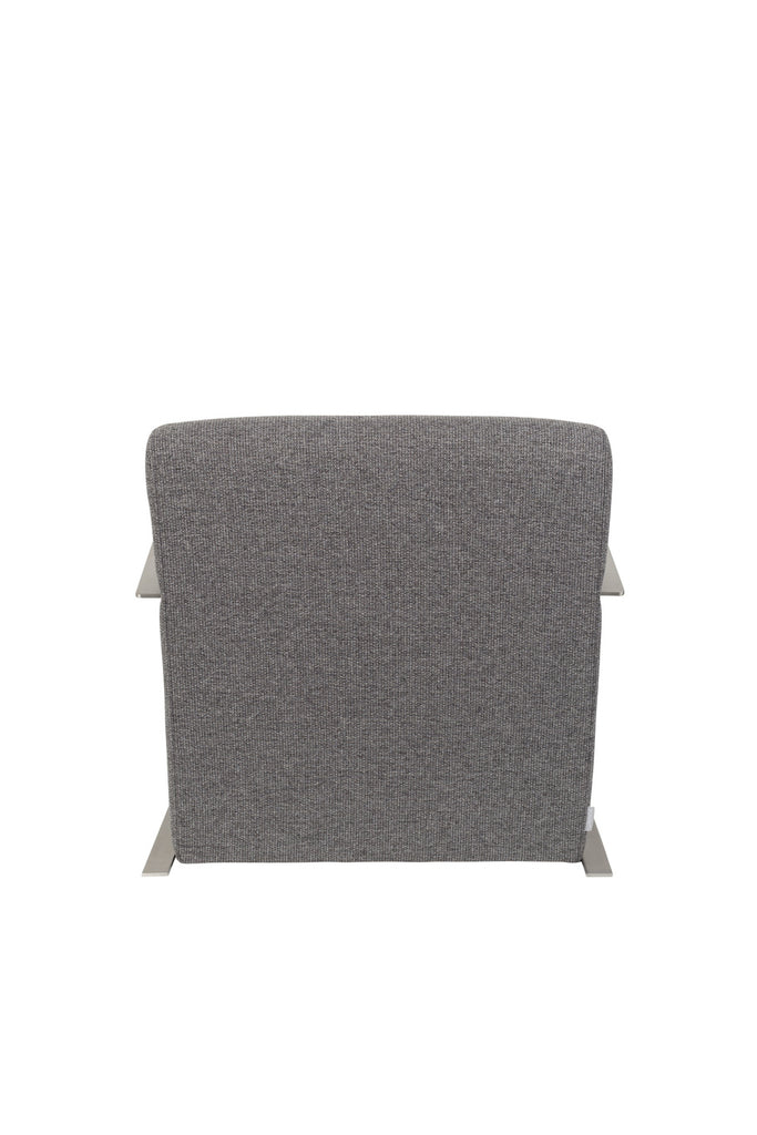 Adwin Lounge Chair - Dark Grey