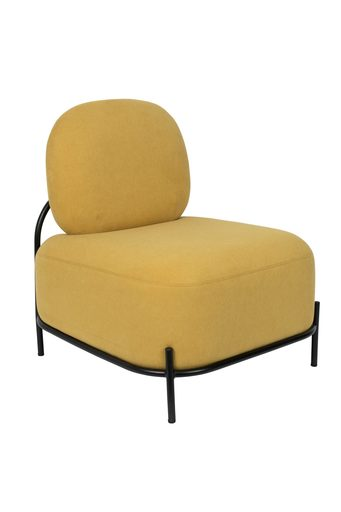 Polly Lounge Chair - Yellow