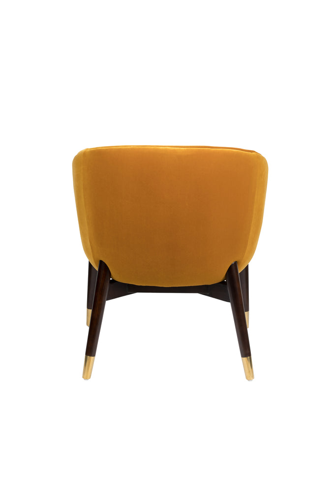 Dolly Lounge Chair - Ochre