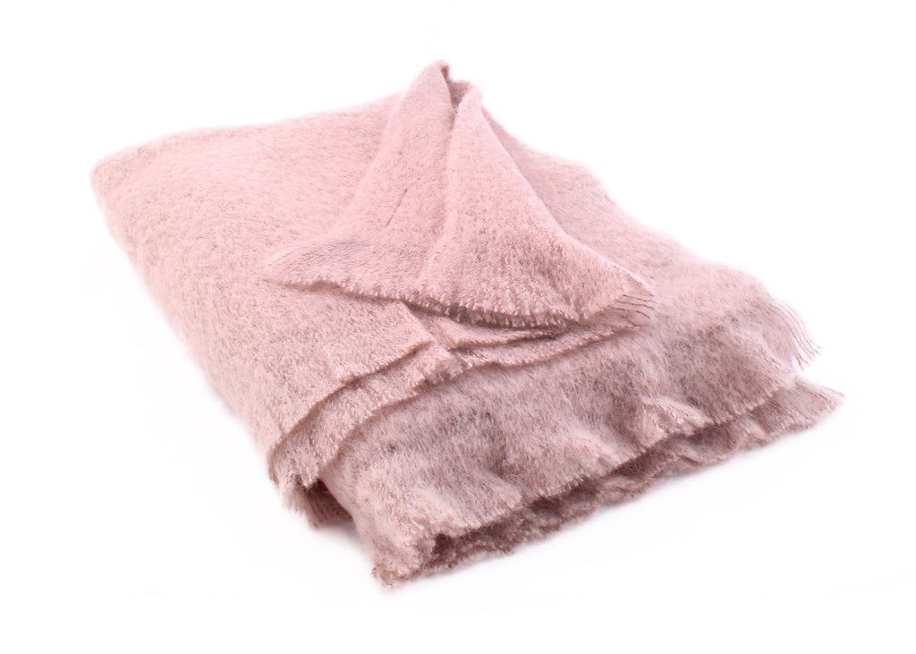 Mink Mohair Throw