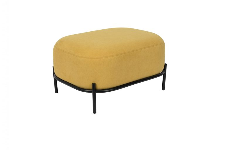 Foxford Living Hocker in Lemon