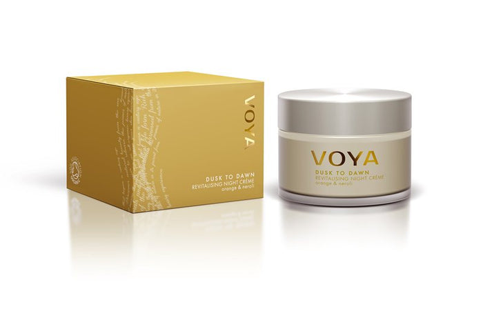 Voya Dusk to Dawn - Revitalising Night Cream