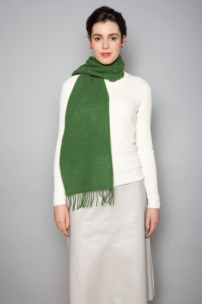 Leaf Green Scarf