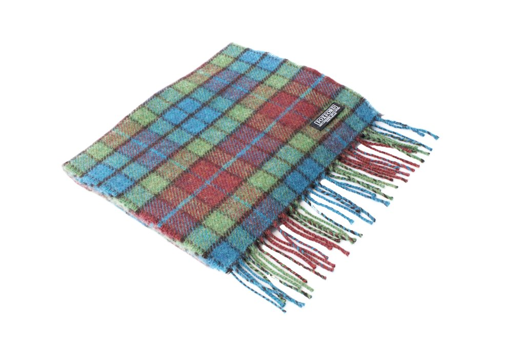 Shannon Block Check Scarf