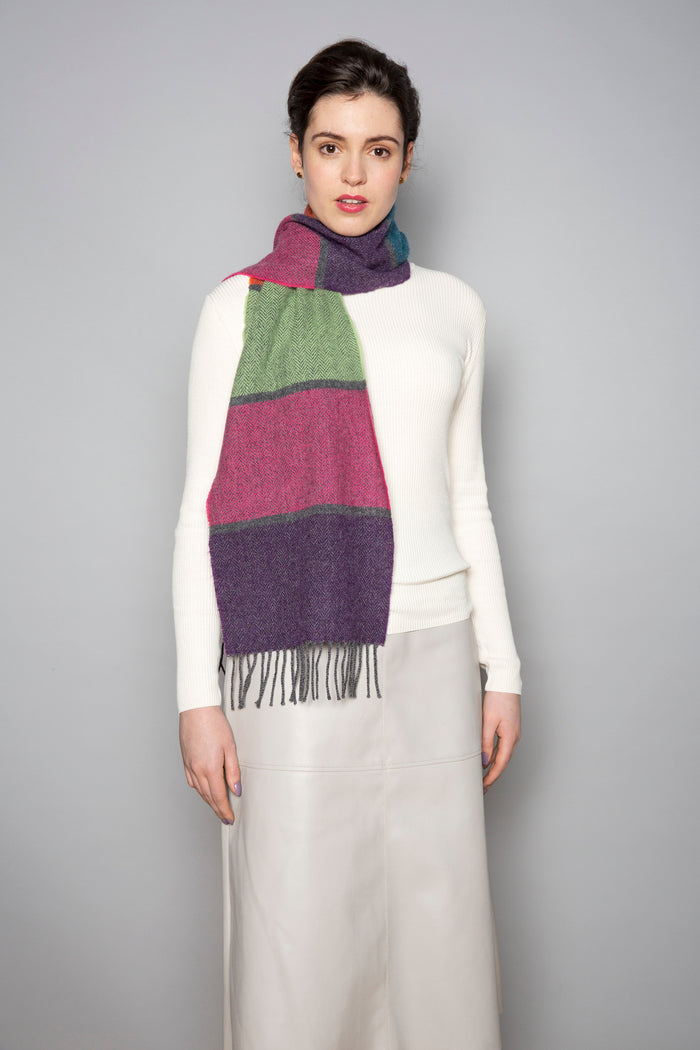 Contemporary Stripe Scarf