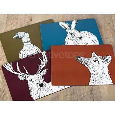 Set of 4 Place Mats