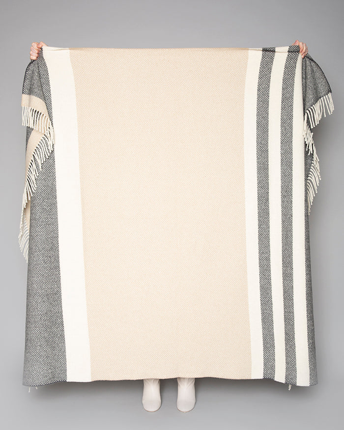 The Clodagh Cashmere Throw