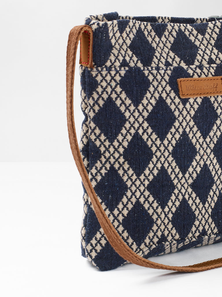 White Stuff Mini Anni Jacquard Crossbody