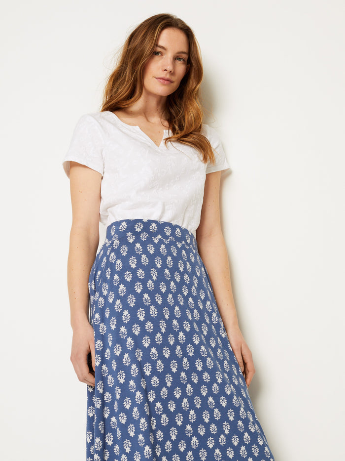 White Stuff Abberford Jersey Maxi Skirt