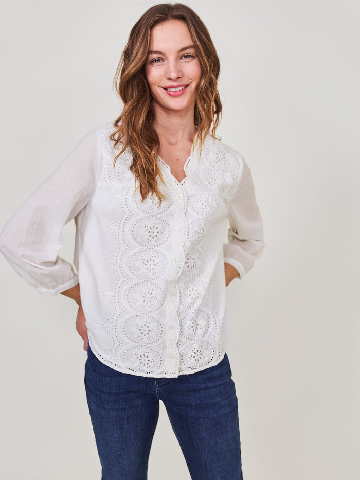 White Stuff - Karla Top White