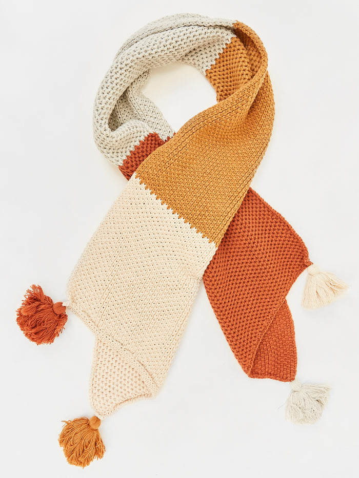 Annabel Colourblock Scarf