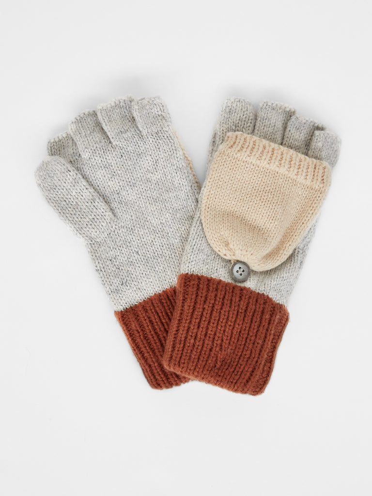 White Stuff Annabel Colourblock Flip Mitt