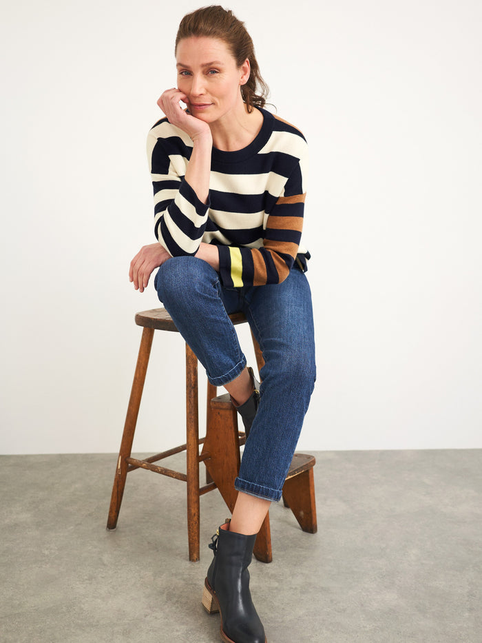 White Stuff - Isabel Stripe Jumper