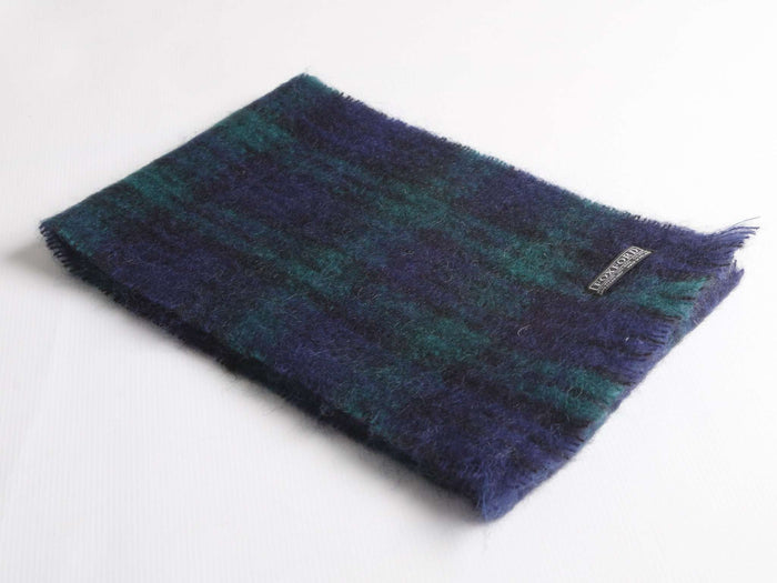 Blackwatch Mohair Scarf