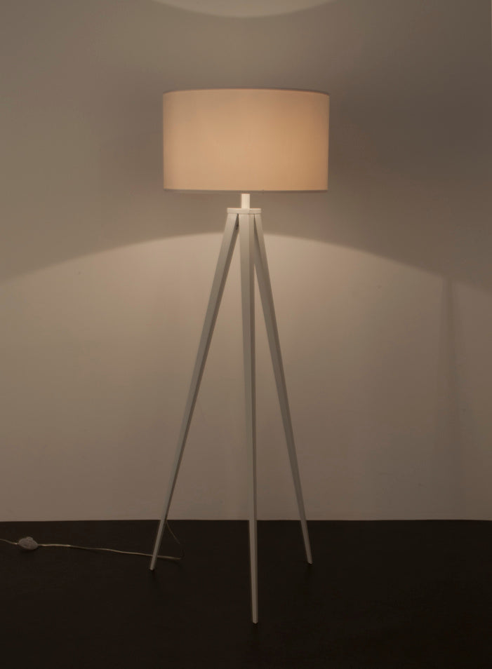 Tripod Floor Lamp - White