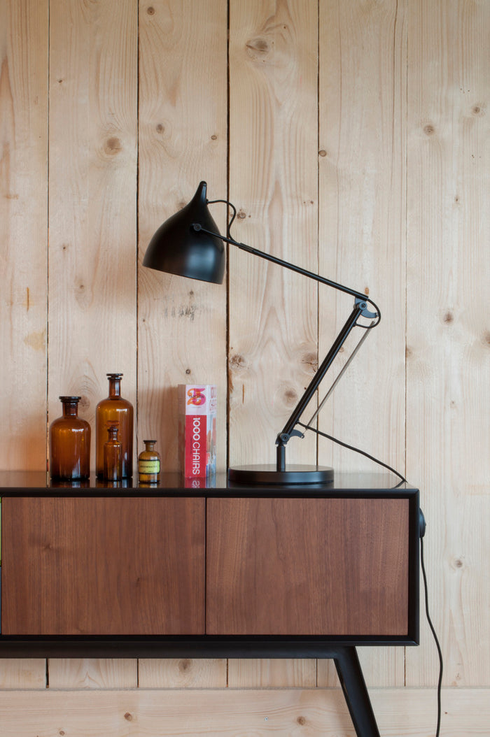 Reader Desk Lamp - Matt Black