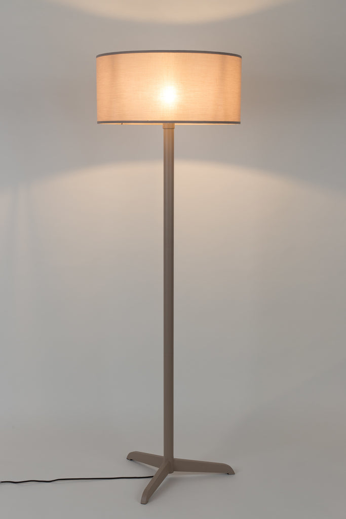 Shelby Floor Lamp - Taupe