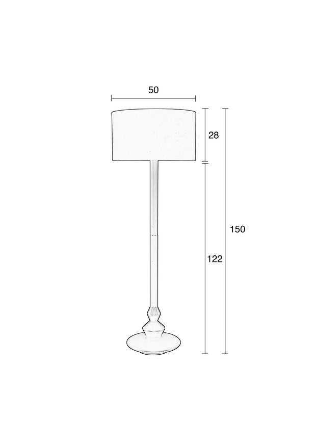 Finlay Floor Lamp - Black