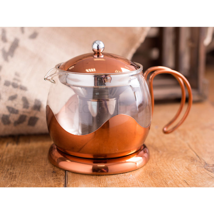 Copper Teapot 2 Cups 600ml