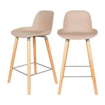 Albert Kuip Counter Stool - Taupe SALE