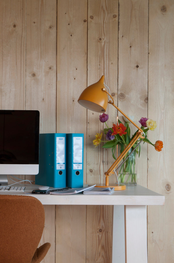 Reader Desk Lamp - Matt Yellow