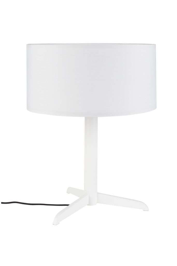 Shelby Table Lamp - White