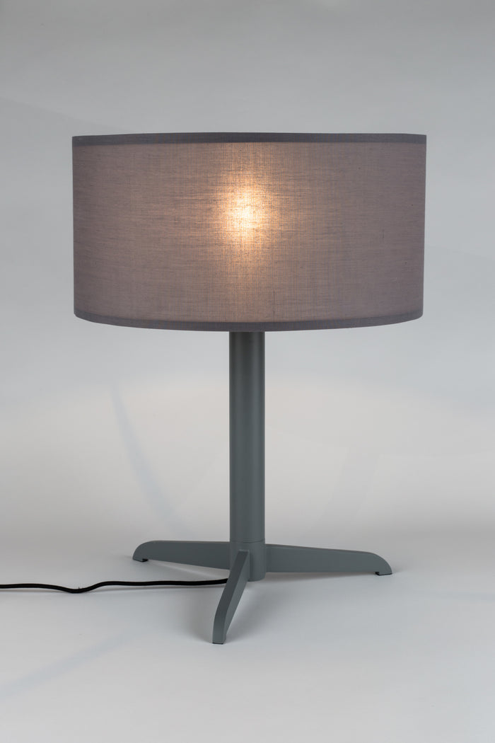 Shelby Table Lamp - Grey