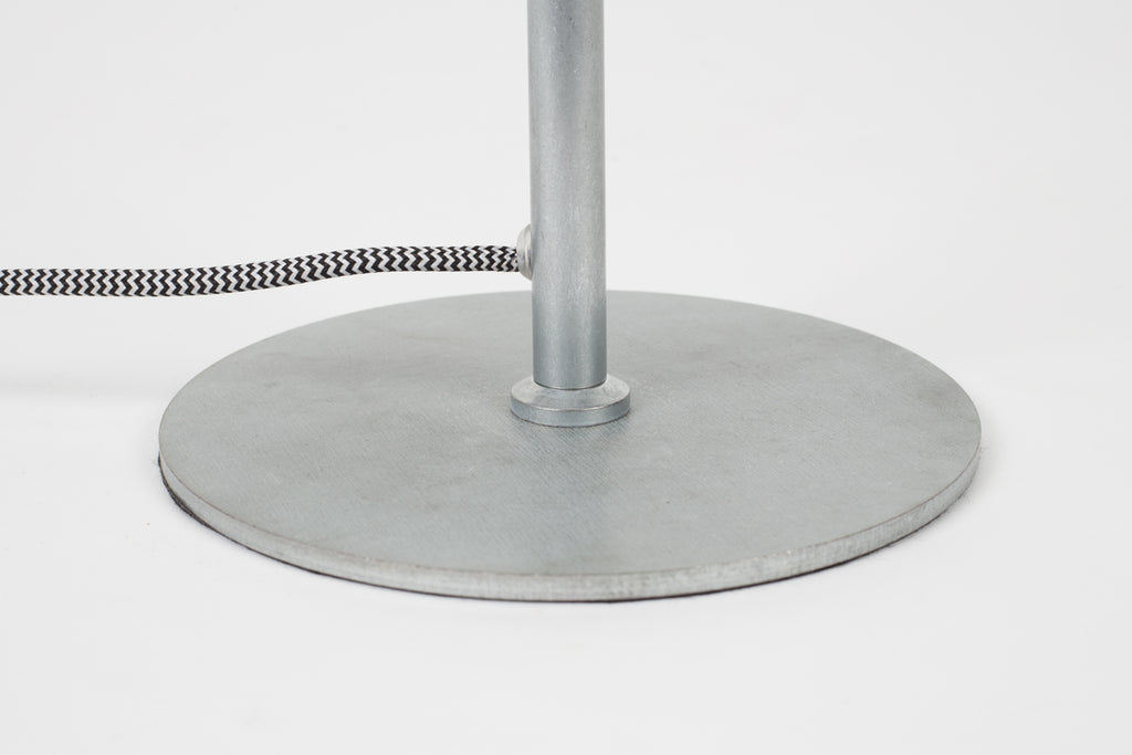 Galvanised Marlon Table Lamp