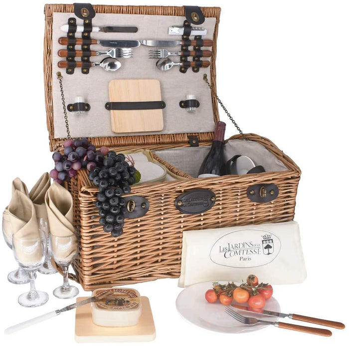 Gisors Picnic Basket for 4 People