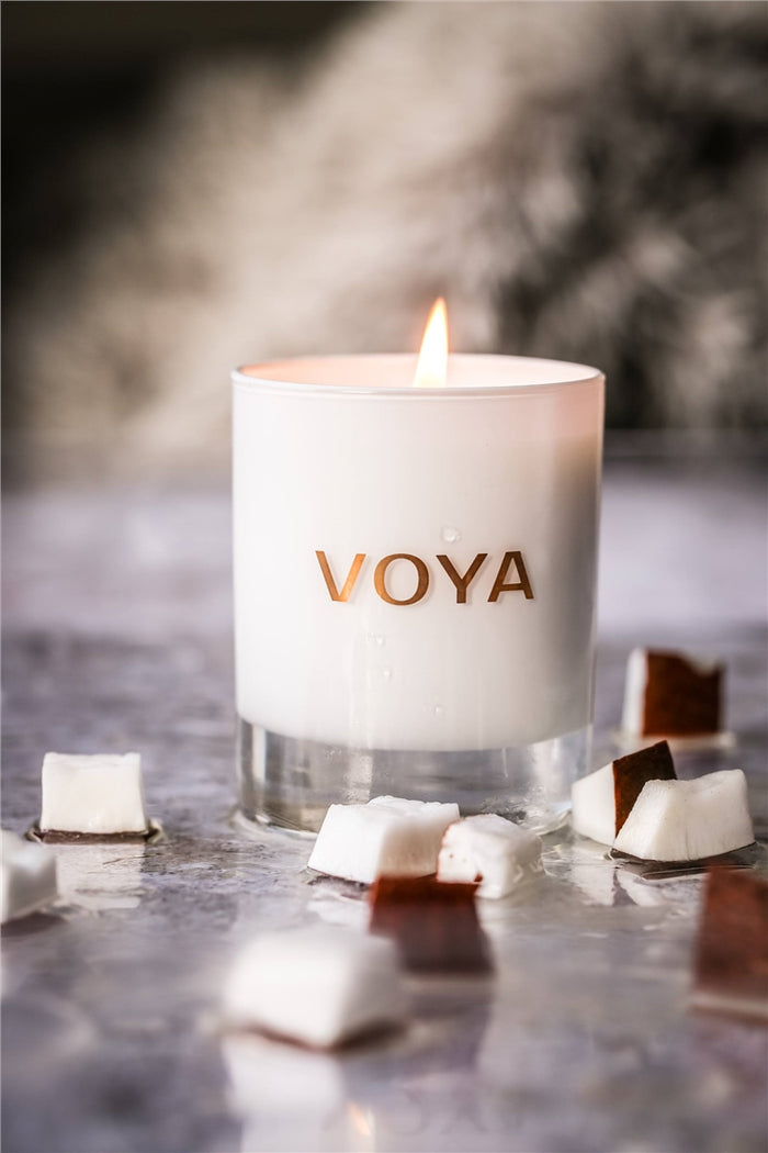 Voya Candle Jasmine and Coconut