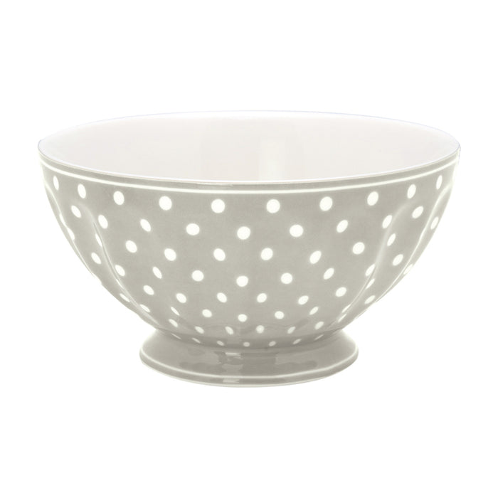 GreenGate French Bowl XLarge - Spot Grey