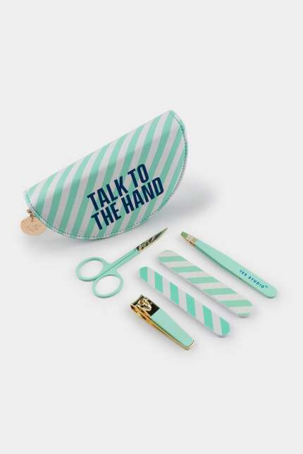 Yes Studio 'Talk to the Hand' Manicure Set