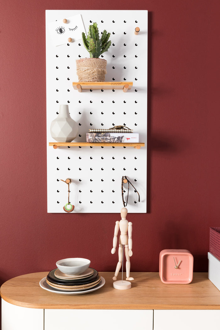 Bundy Pegboard - White
