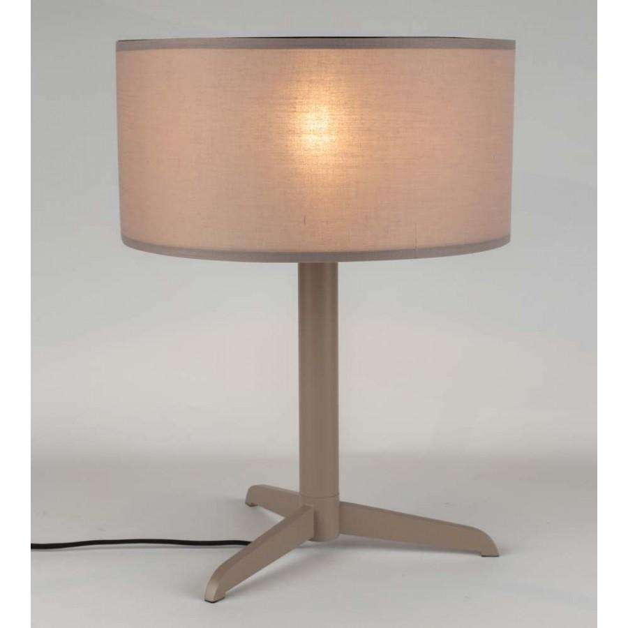 Shelby Table Lamp - Taupe