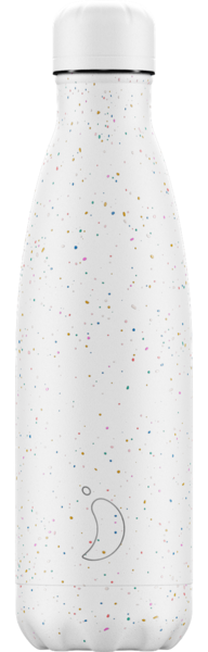 Chilly's Black White Speckled Water Bottle - 500ml
