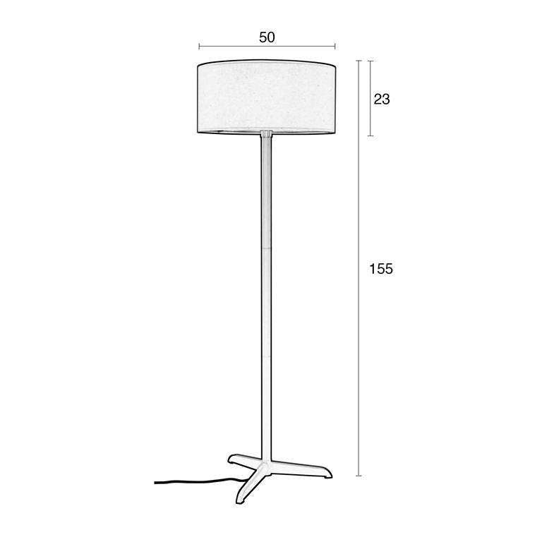 Shelby Floor Lamp - White
