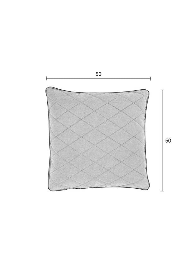 Square Diamond Pillow - Emerald Green