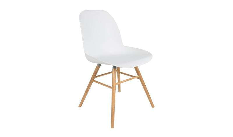 Albert Kuip Chair - White