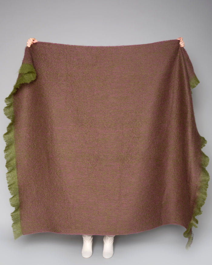 Ox Mohair Throw