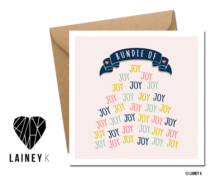 Bundle of Joy - Greeting Card