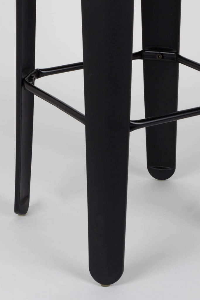 Breakfast Barstool- Black