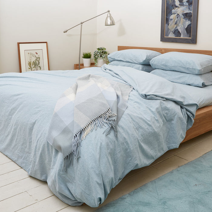 Duck Egg Blue Duvet Set