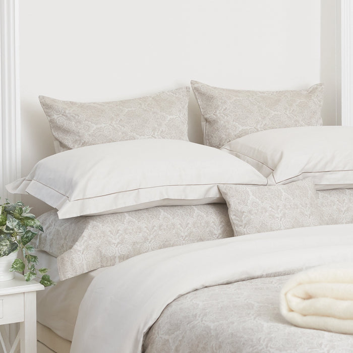 Square Jacquard Charlotte 300TC - Single Pillowcase