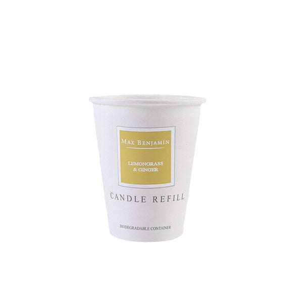 Lemongrass and Ginger Max Benjamin Candle Refill