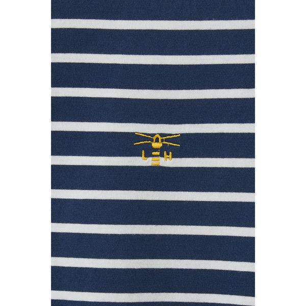 Lighthouse Causeway Breton Top - Midnight Stripe