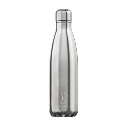 Chilly's Chrome Stainless Steel Bottle - 260ml