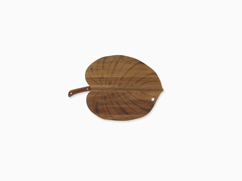 Monstera Secret Serving Board