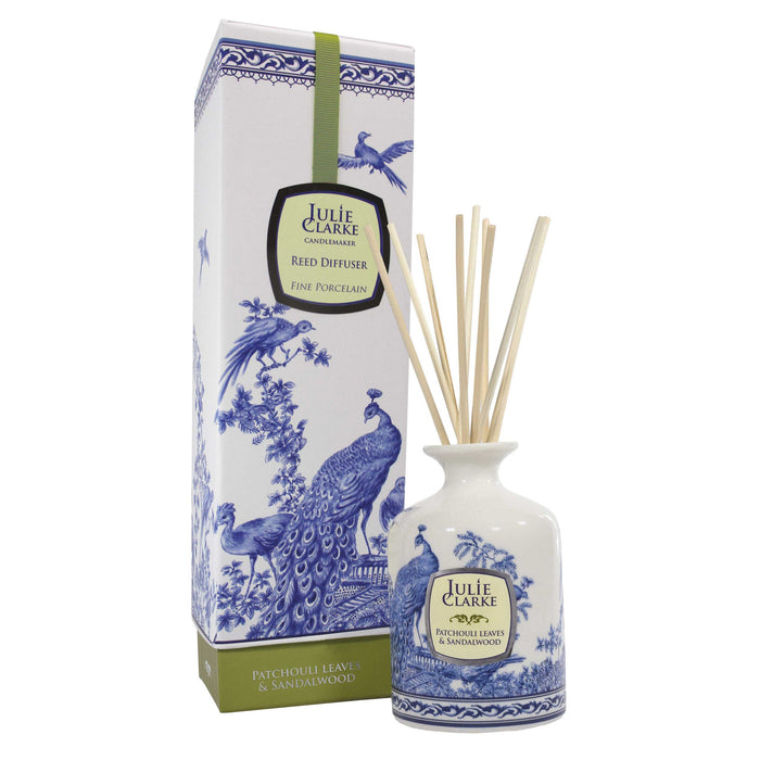 Patchouli Leaves & Sandalwood Peacock Diffuser