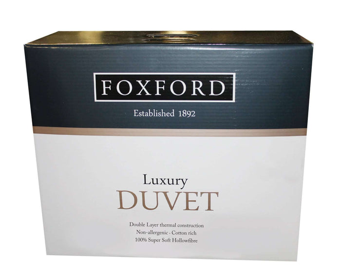 Product shot of Foxford's Luxury Double Layer Duvet
